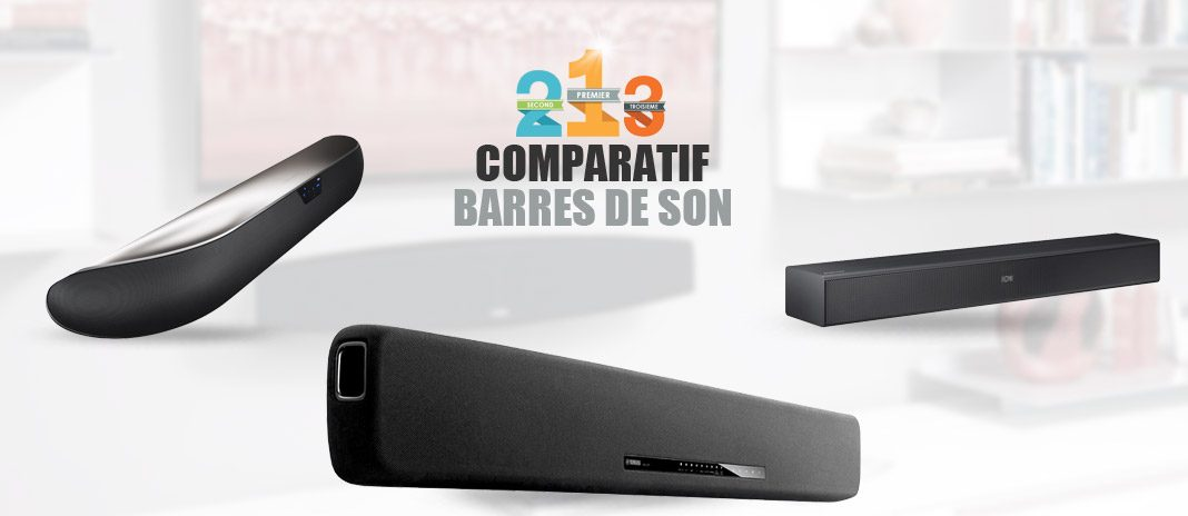 barres de son comparatif