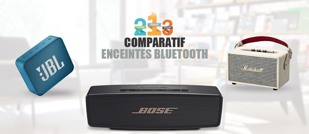enceintes bluetooth comparatif