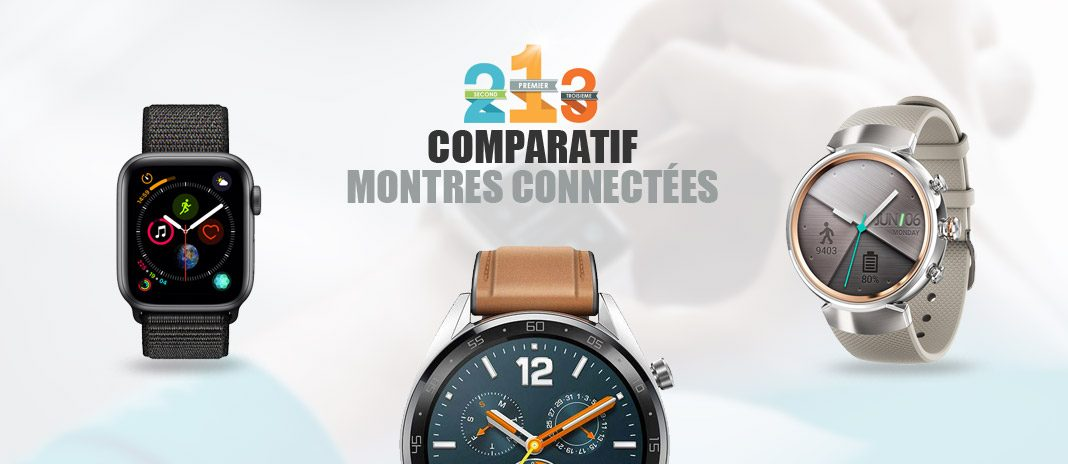 montres connectees comparatif