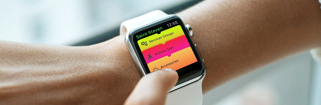 controle apple watch