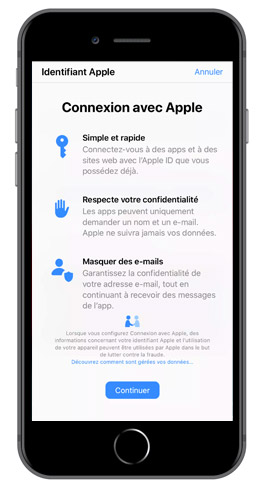 connection apple-id