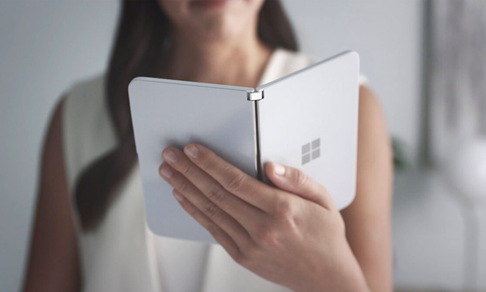 surface duo ouvert